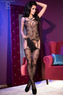 Čierny Bodystocking - CR4105
