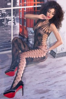 Čierny Bodystocking - CR4261