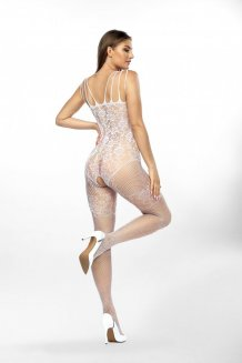 Biely Bodystocking - Chrystelle