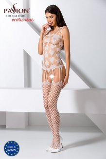 Biely Bodystocking - BS067