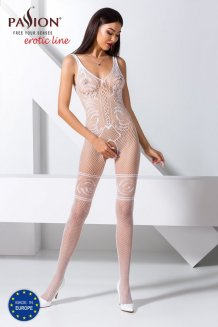 Biely Bodystocking - BS069