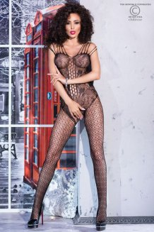 Čierny Bodystocking - CR4233