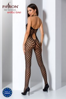 Čierny Bodystocking - BS065