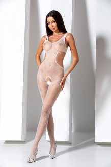 Biely Bodystocking - BS085