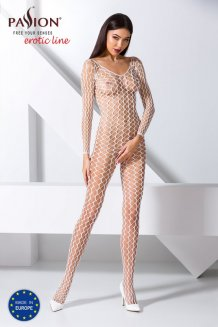 Biely Bodystocking - BS068