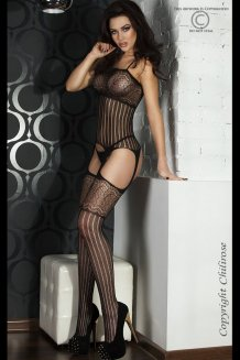 Čierny Bodystocking - CR3420