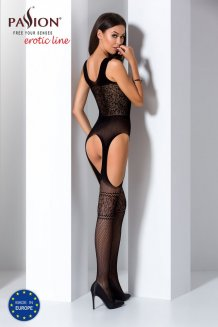 Čierny Bodystocking - BS061