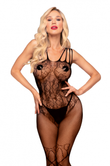 Čierny Bodystocking - Dirty Mind