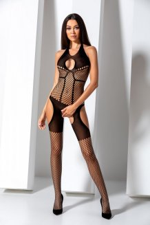 Čierny Bodystocking - BS079