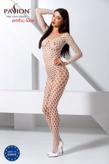 Biely Bodystocking - BS077